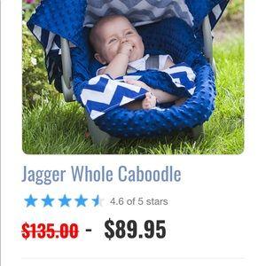Car seat canopy set 5 pieces